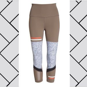 Zella high waist cropped patterned yoga pants